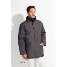 SOL'S RIVER UNISEX PARKA WITH QUILTED LINING